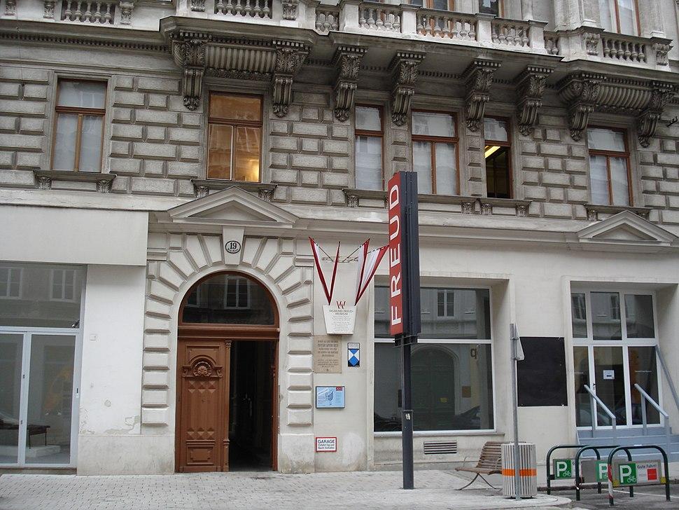 Freud egykori lakhelye Bécsben (Berggasse 19.)