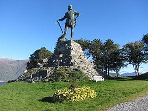 Max Unger (sculptor) - Fridtjof the Bold; Vik, Norway