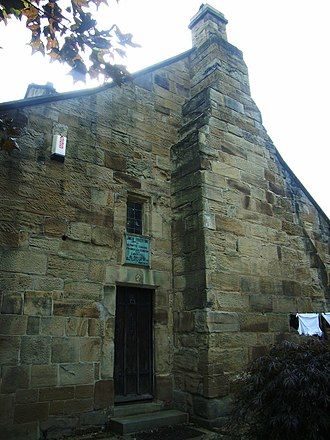 John Freeston - Frieston's Hospital, endowed by Freeston in 1594 as accommodations for seven poor men