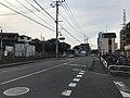 Fukuoka Prefectural Road No.24 in front of Kashii-Jingu Station.jpg