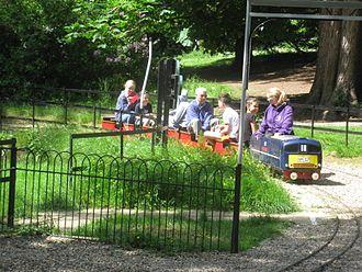 Alexandra Park, Hastings - Miniature railway.