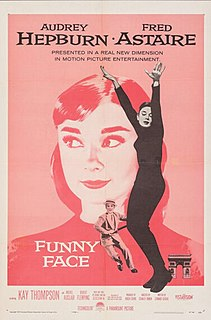 <i>Funny Face</i> 1957 American musical romantic comedy film by Stanley Donen