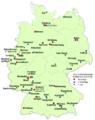 Fussball-Bundesliga Mannschaften je Ort in Deutschland 2013-2014.png