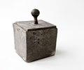 Fyrkantig ask med lock - Skoklosters slott - 93638.tif