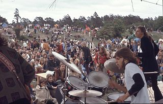 Progg 1960s/70s Swedish left-wing music scene