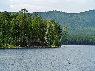 Forest cover by federal subject in Russia - Forest in Miass, Chelyabinsk Oblast