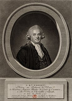 Gui-Jean-Baptiste Target French lawyer and politician