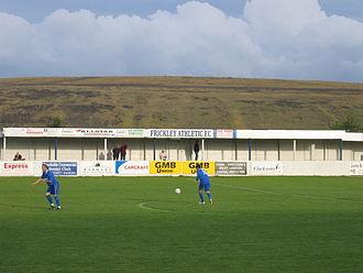 Frickley Athletic F.C. - Image: GMB stadium 1