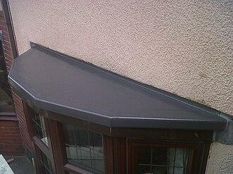 Flat roof - GRP fiberglass flat roofing