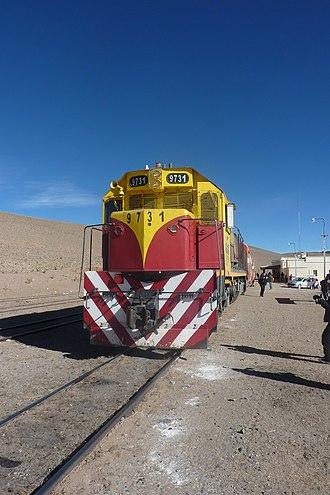 EMD GT22 Series - GT22CU in San Antonio de los Cobres, Argentina