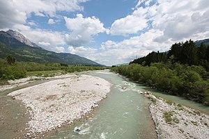Gail (river) - Gail River near Dellach