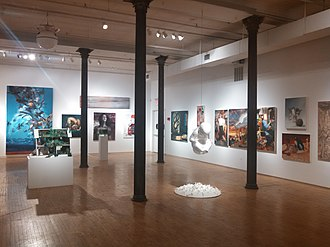 New York Academy of Art - Image: Gallery, New York Academy of Art, Tribeca NY