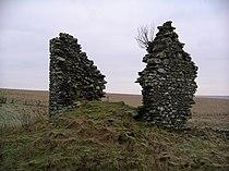 Gamelshiel Castle (remains of) - geograph.org.uk - 103058.jpg