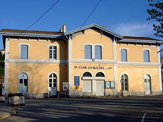 Saint-Clair-du-Rhône Commune in Auvergne-Rhône-Alpes, France