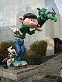 Gaston Lagaffe statue no sticker.jpg