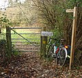 Gate on Bridleway from Nuthurst to Elliotts Farm (Copsdale), West Sussex. - geograph.org.uk - 86113.jpg