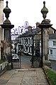 Gates and Gatepiers - Church Street, Malpas - geograph.org.uk - 587048.jpg