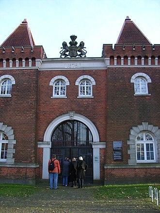 Fuhlsbüttel - Entrance of the Camp memorial Fuhlsbüttel