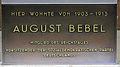 Gedenktafel Hauptstr 97 (Schö) August Bebel.jpg