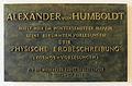 Gedenktafel Unter den Linden 6 (Mitte) Alexander von Humboldt.jpg