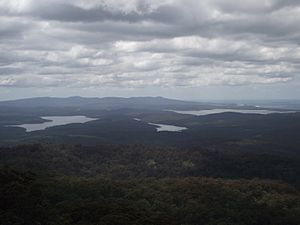 Genoa, Victoria - View from Genoa Peak Summit