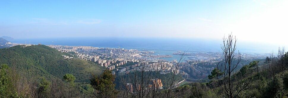 Genova - Panorama da Righi
