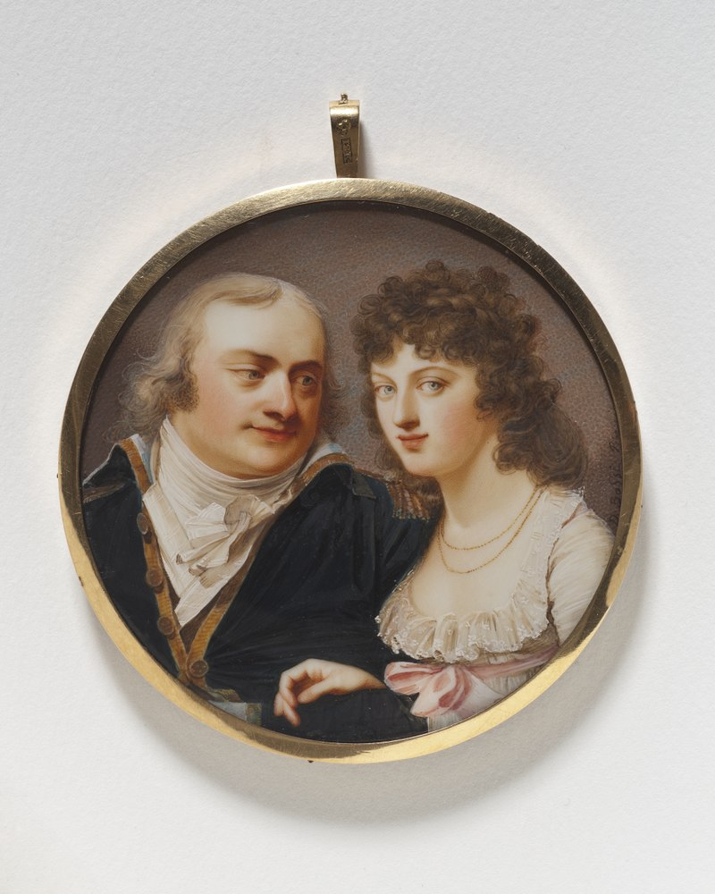 Georg J. Skjöldebrand, 1761-1816, colonel, his sister Maria Elisabeth, 1763-1842 - Nationalmuseum - 24801.tif