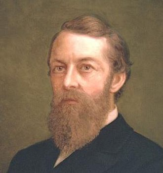 George Stoneman - Official portrait of Governor George Stoneman