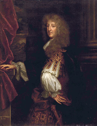 George Booth, 1st Baron Delamer - Lord Delamer