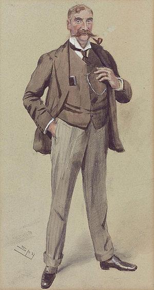 George Somerset, 3rd Baron Raglan - Image: George Fitz Roy Henry Somerset, 3rd Baron Raglan (1857 1921), by Leslie Matthew Ward 'Spy' (1851 1922)