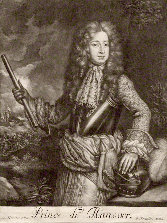 George I as Prince of Hanover
