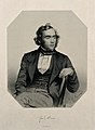 George James Allman. Lithograph by T. H. Maguire, 1851, afte Wellcome V0000136.jpg
