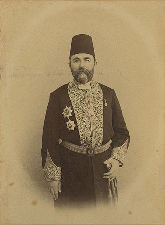 Serbo-Montenegrins in Albania - Image: Georgios Verovits, Prince of Samos