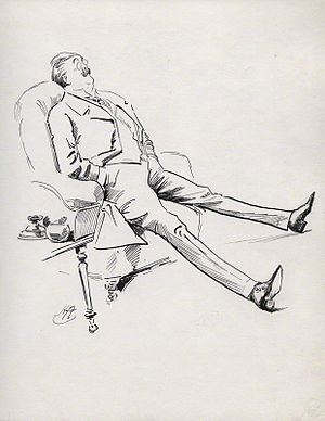 Gerald Duckworth - Gerald Duckworth by Harry Furniss