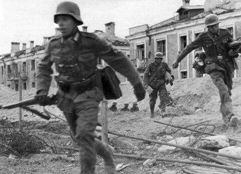 Germans in Stalingrad