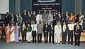 Ghulam Nabi Azad and the Minister of State for Health and Family Welfare, Shri Sudip Bandyopadhyay with the ICMR awardees, at the ICMR awards presentation function, in New Delhi on November 08, 2011.jpg