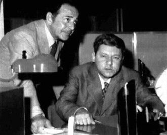 Gianni Agus - Gianni Agus and Paolo Villaggio, 1975.