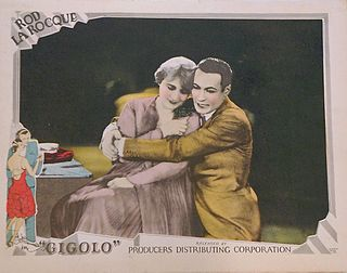 <i>Gigolo</i> (film) 1926 film