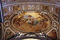 Giovanni lanfranco, affreschi della cappella sacchetti, 1621-24, 01 resurrezione ed evangelisti.jpg