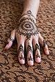 Girl hand with mehendi design,Chitwan, Nepal (33046791480).jpg