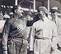 Giuseppe Campari et Albert Divo, à l'arrivée du Grand Prix de l'A.C.F. 1924 à Lyon.jpg