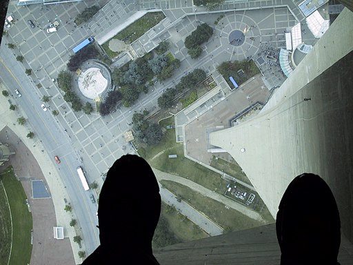 Glass Floor of the CN Tower