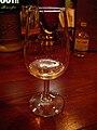 Glass of Fritz Haag 1999 Brauneberger Juffer-Sonnenuhr Riesling Auslese.jpg