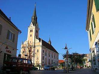 Gleisdorf - Image: Gleisdorf.Hauptplatz