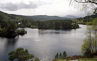 Protected areas of Scotland - Glen Affric is designated as both a NSA and NNR.