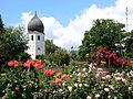 Glockenturm des Klosters Frauenwörth auf der Fraueninsel.jpg
