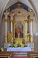 Gmunden - Pfarrkirche Jungfrau Maria und Erscheinung des Herrn - Seitenaltar hl Nikolaus.jpg