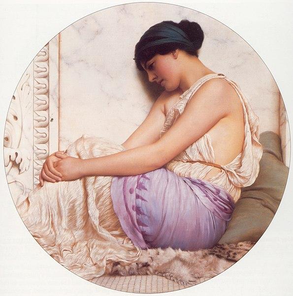 Файл:Godward A Grecian Girl 1908.jpg