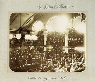 Decline and fall of Pedro II of Brazil - The Brazilian senate, 1888. Neither the Emperor nor the ruling circles believed that there was a viable successor to the Brazilian throne.
