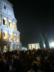 The Way of the Cross, celebrated at the Colloseum in Rome on Good Friday.